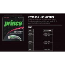 CUERDA TENIS SYNTHETIC GUT DURAFLEX PRINCE