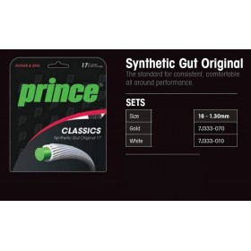 CUERDA TENIS SYNTHETIC GUT ORIGINAL PRINCE