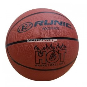 BALON BASKET 3 RUBBER RUNIC