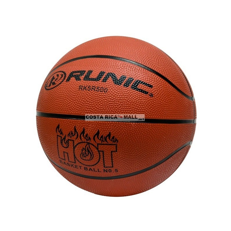 BALON BASKET 5 RUBBER RUNIC
