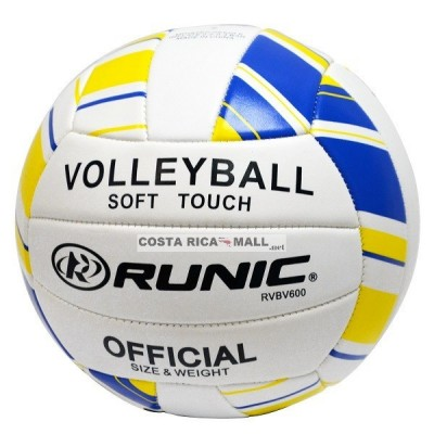 BALON PARA VOLLEYBALL DE PLAYA COCIDA RVBV600 RUNIC