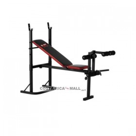 BANCO PARA PESAS PLEGABLE BW2120BR BODY SCULPTURE