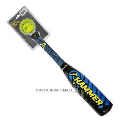 SET BATE Y PELOTA BASEBALL FOAM E99FBB11 EASTON